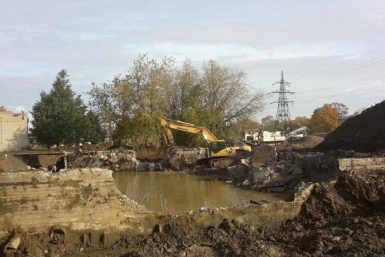 Narva veetöötlusjaama lammutamistööde I etapp