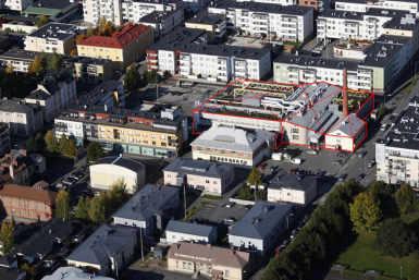 Valio meierei ja külmhoone Kuopio kesklinnas
